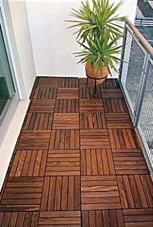 Deck loseta terraza hogar madera loseta y hogar - Loseta para jardin ...