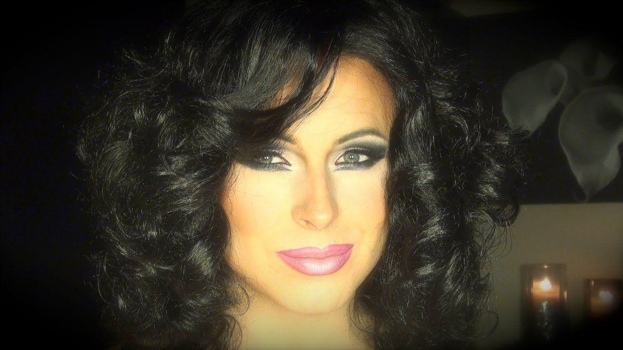 Hot pink in brunette makeup for drag queens transgendered and hot pink in brunette makeup for drag queens transgendered and male to female transformations baditri Images