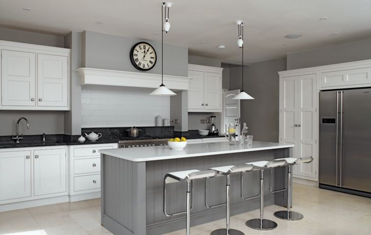Bespoke Kitchen Design Painting wimbledon villa  handmade kitchens | traditional kitchens