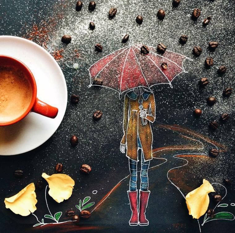 Полоска, дождливое утро картинки красивые необычные