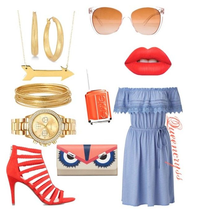 """""""But you called me five minutes ago, FOR BRUNCH!"""" by queencryss on Polyvore featuring KG Kurt Geiger, Miss Selfridge, Bold Elements, Mestige, Belk & Co., Lauren Ralph Lauren, Lime Crime, Essie and Tory Burch"""