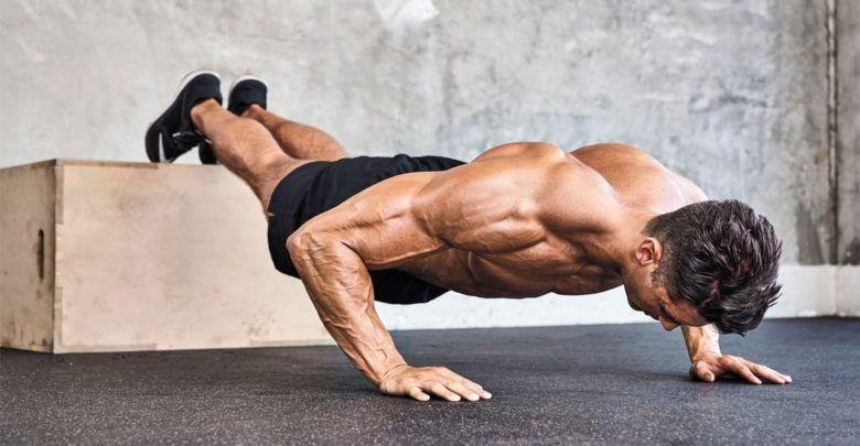 أهم التمارين الرياضية المنزلية لبناء العضلات للسيدات و الرجال في المنزل شبكة سعودي نت Push Up Upper Body Workout Routine Chest Workouts