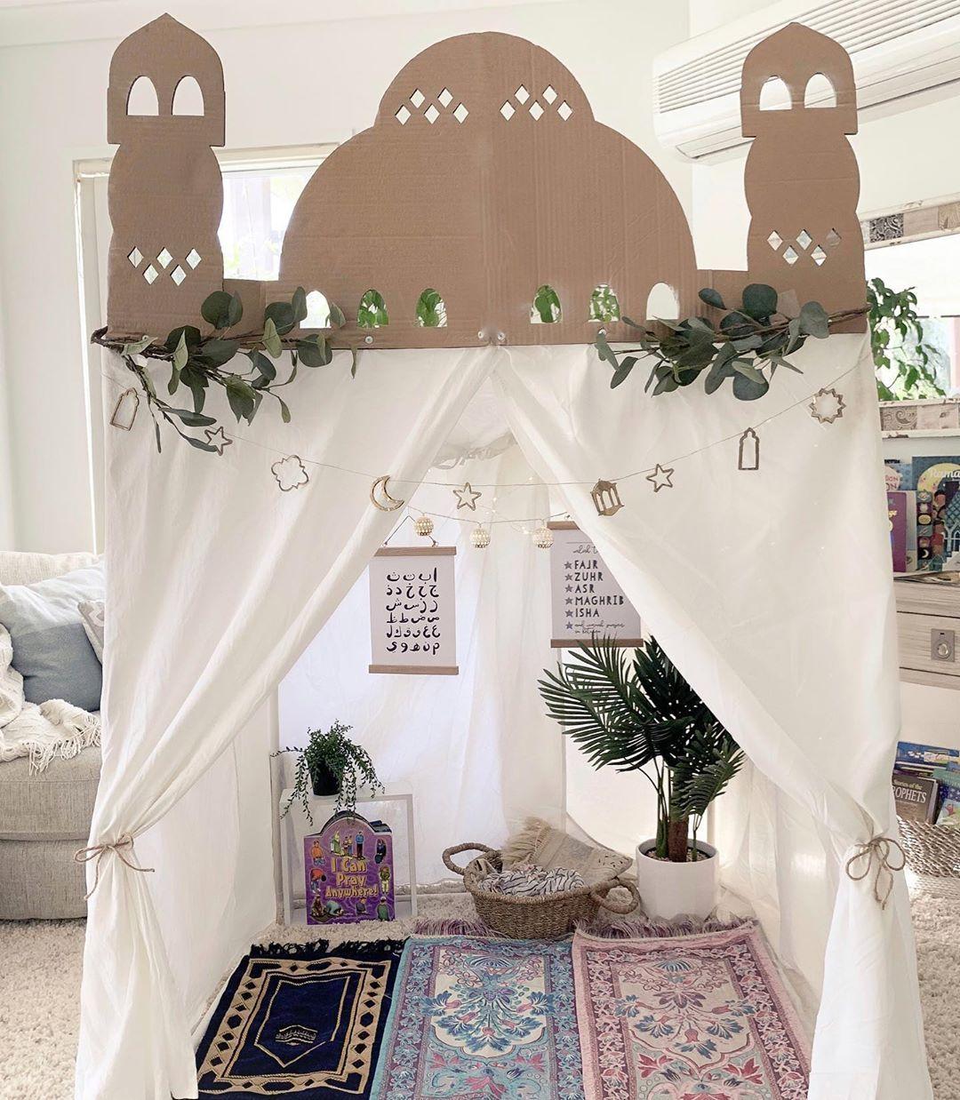 Ramadan Play Masjid Mosque Decor Decoration Reflections