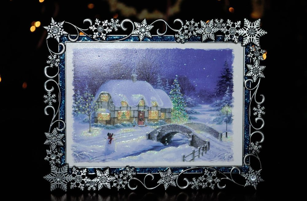 Kohls 5x7 Picture Frame Christmas Home For The Holidays Frame