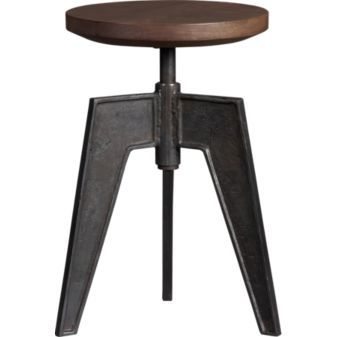 contact stool in ottomans, benches | CB2