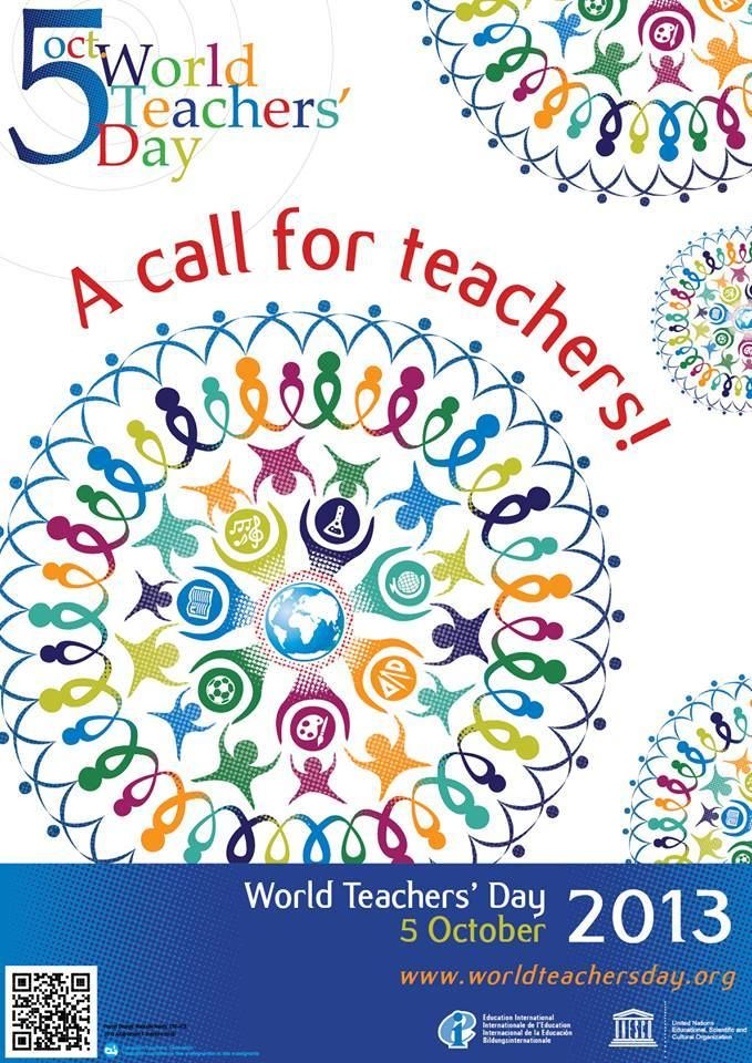 Saturday Is World Teachers Day Teachers Are A Powerful Force For Equity Access And Quality Education Journee Des Enseignants Enseignement Journee Mondiale