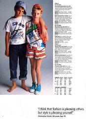 ESPRIT/Kids Summer 1985 Catalog - Page 4 (Kitten Moon) Tags: girls ...