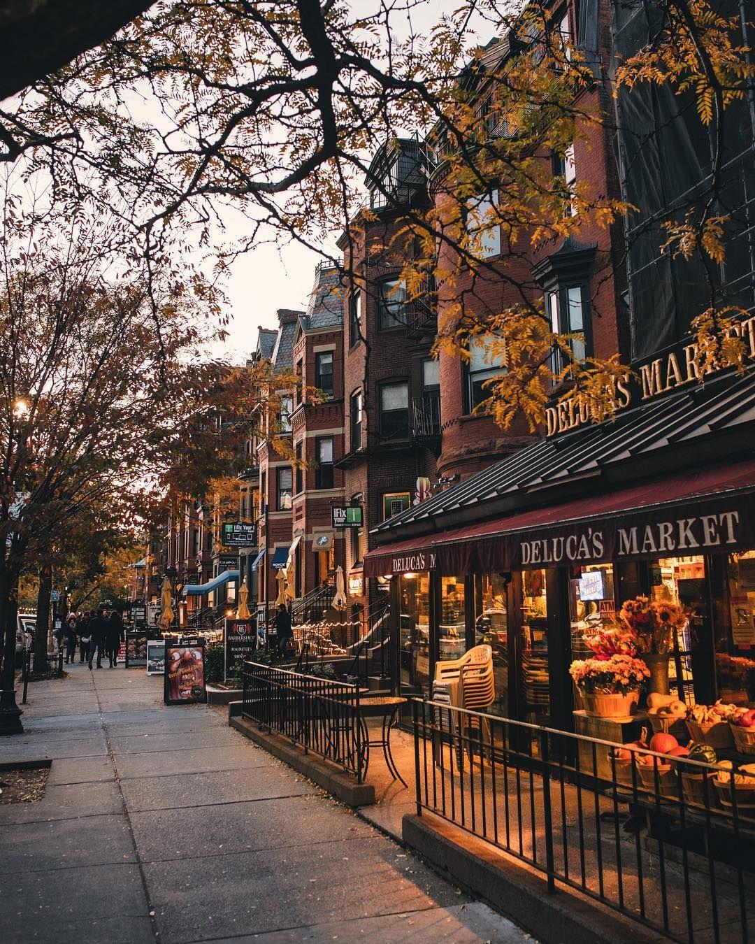 fall vibes on newbury street back bay boston ma joethommas on rh pinterest com