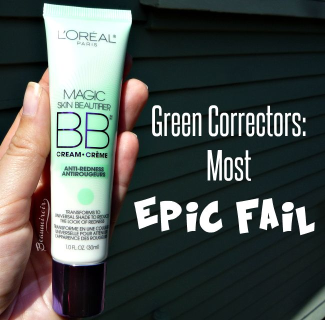 Epic Fail: L'Oreal Magic Skin Beautifier BB Cream Anti-Redness ...
