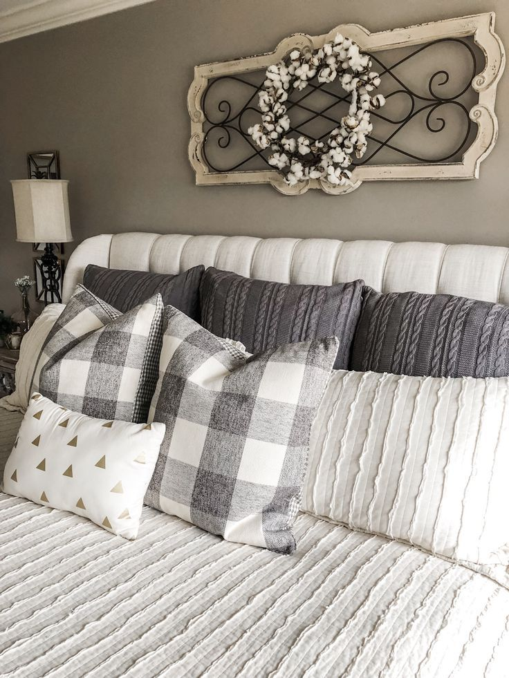 How to create a master bedroom that is cozy and cute!