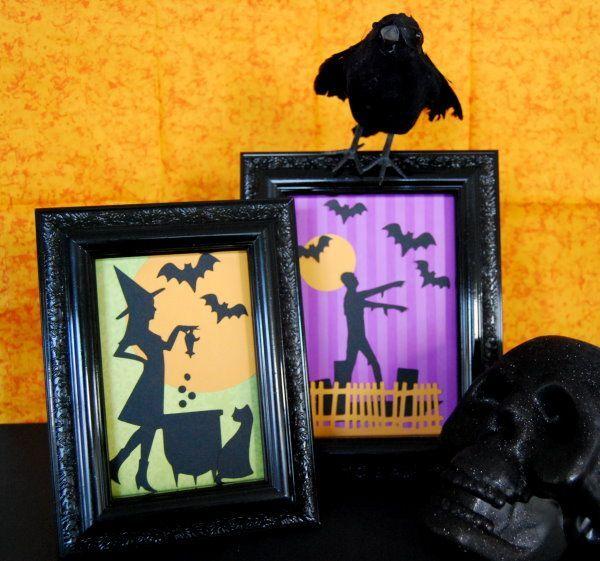 Quick Quick Quick Last Minute Halloween Décor Halloween Pinterest - fun homemade halloween decorations