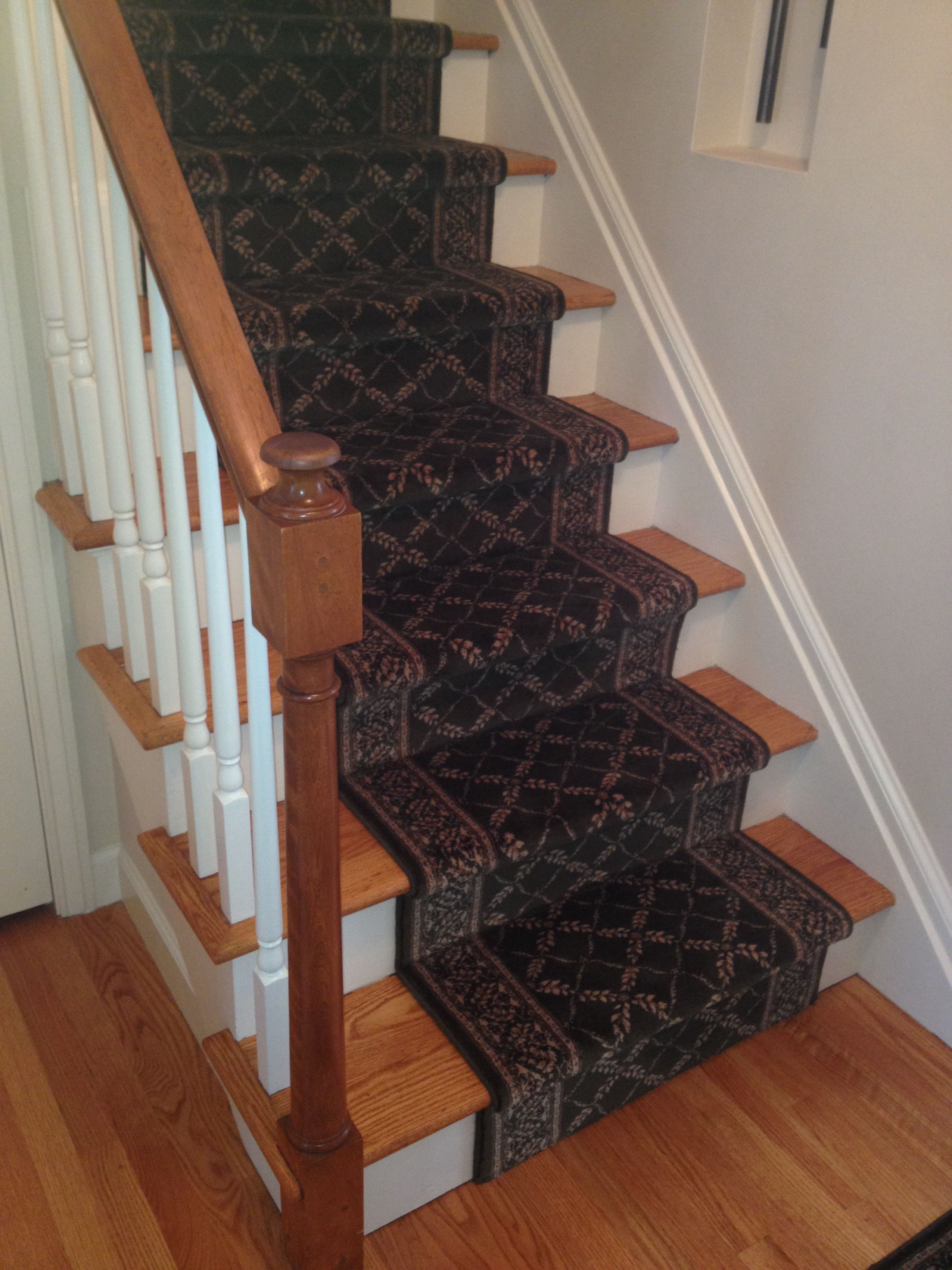 Best So Happy With High Quality Pad And Olive Wool Stair Runner 640 x 480