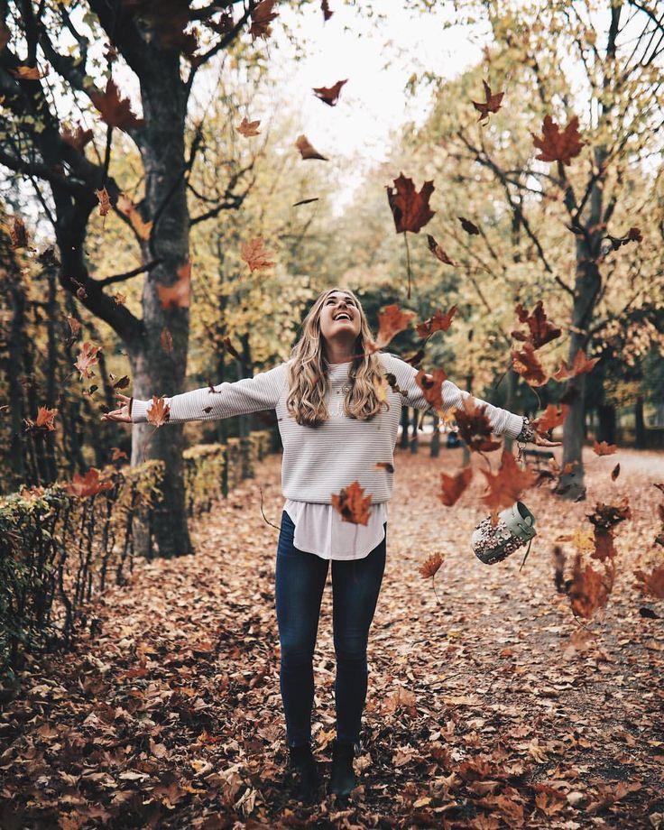 """Der Herbst zeigt uns, wie schön es ist, die Dinge laufen zu lassen. Zitate, Autumn Quotes, Bits und Bobs von Eva (@bitsandbobsbyeva) auf Instagram: """"Der Herbst zeigt uns, wie schön es ist, die Dinge gehen zu lassen. #Happysunday"""