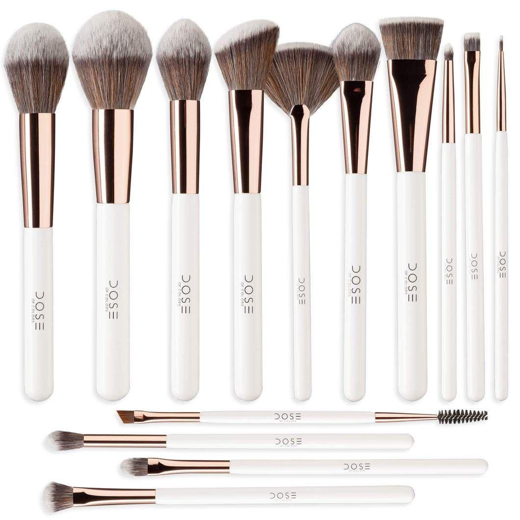 Complete Brush Set In 2020 Makeup Brush Set Makeup Brushes Guide Setting Powder Brush