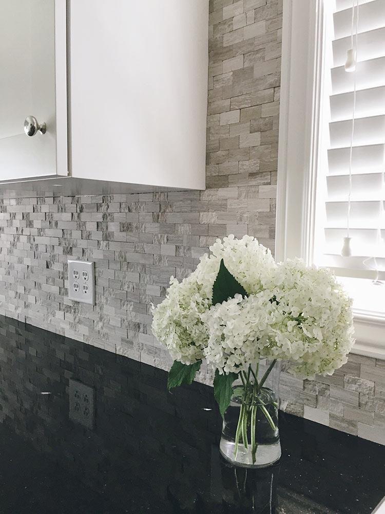 BuildDirect Granite Countertops Black Galaxy Kitchen View