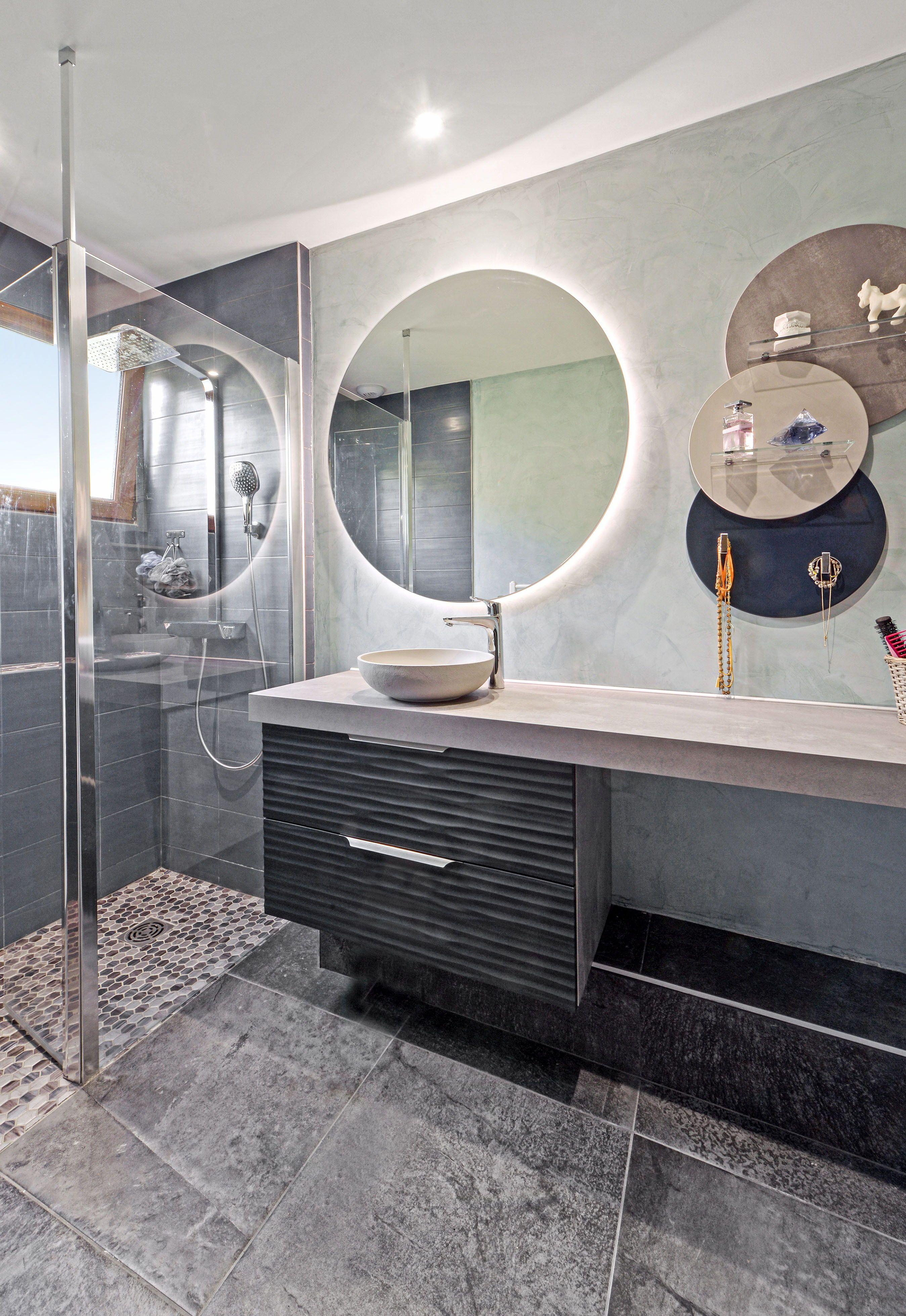 Salle De Bains Design Boudoir Et Miroirs Salle De Bain Design Salle De Bains Moderne Salle De Bain