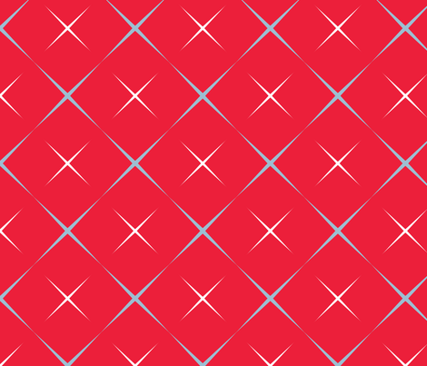 Modernist Pop!  fabric by peacoquettedesigns on Spoonflower - custom fabric