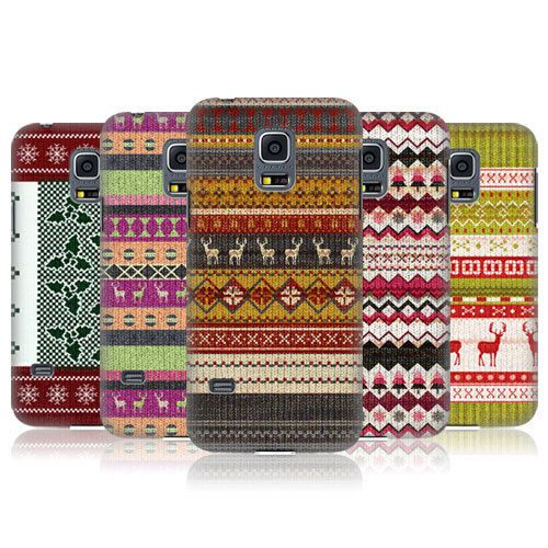 HEAD-CASE-KNITTED-CHRISTMAS-BACK-CASE-FOR-SAMSUNG-GALAXY-S5-MINI-G800F