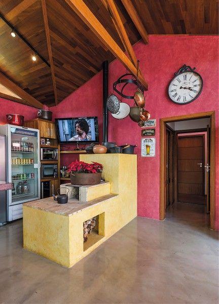 Jeitinho De Cozinha Caipira Projeto Do Arquiteto Cozinhas Caipiras Fogão A Lenha Lenha