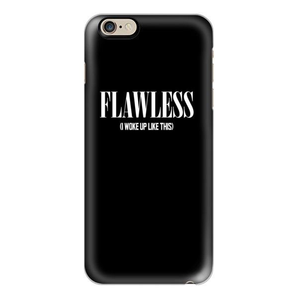 Flawless Black & White (I woke up like this) - iPhone 6s Case ...
