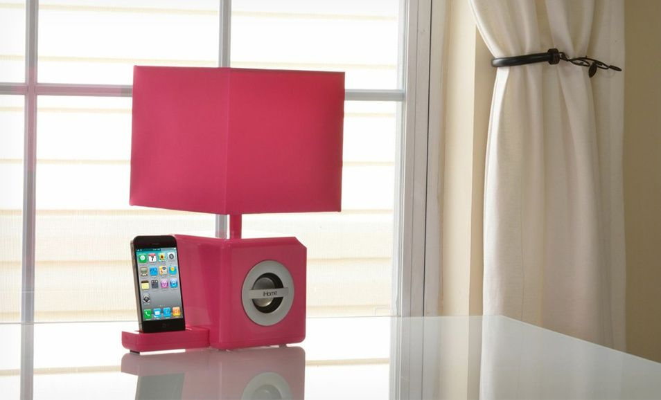 $36 99 for iHome Speaker Dock and LED Ambient Lamp ($104 95