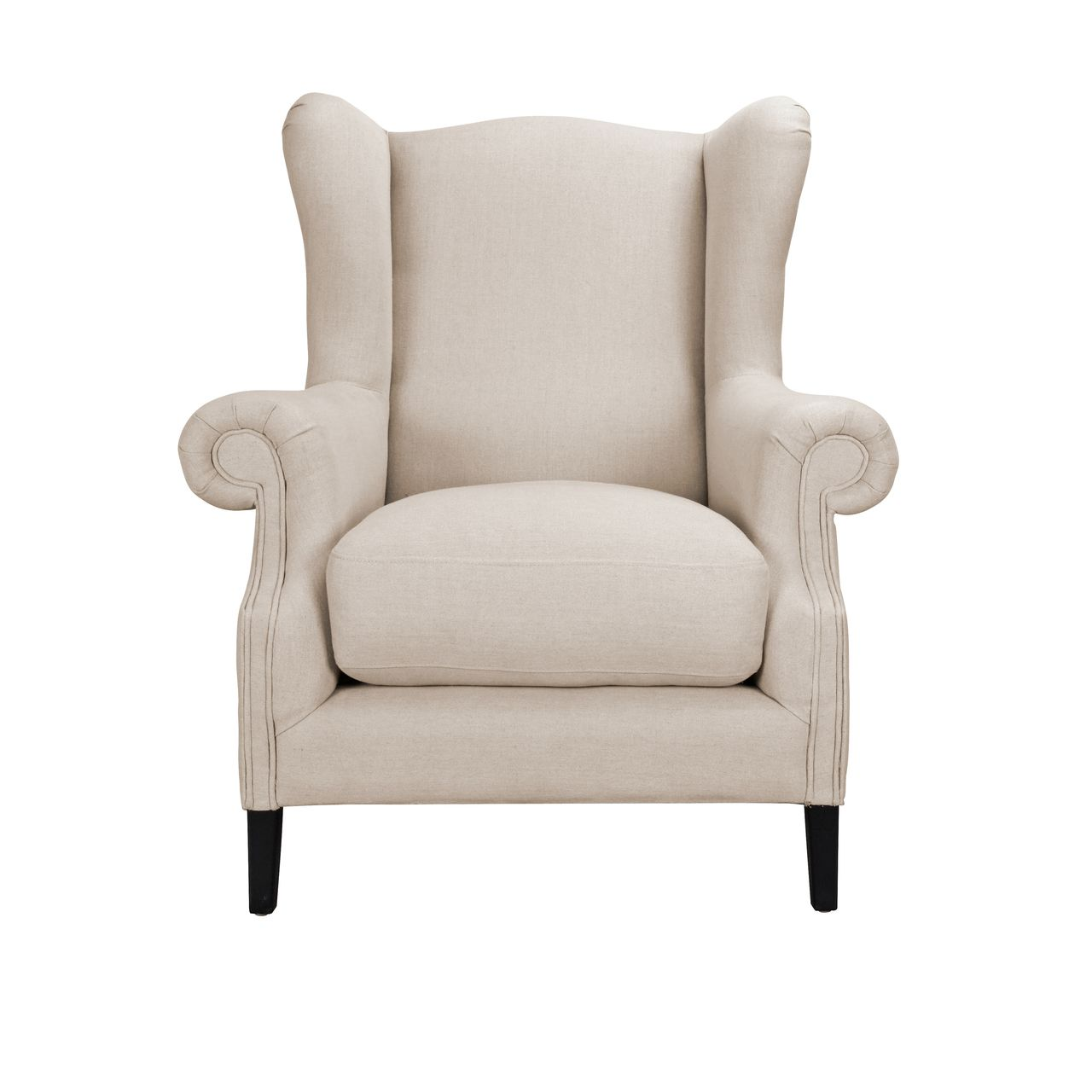 Augustine Wingback Taupe X Town and Country Style Places to