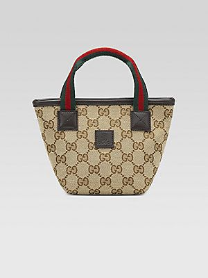 800a710da98 Gucci Kid s Small Signature Web Handbag purchased from Gucci boutique while  in Milan for our Lil  Princess!