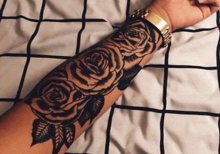 Flowers roses tattoo half sleeves 45+ Ideas