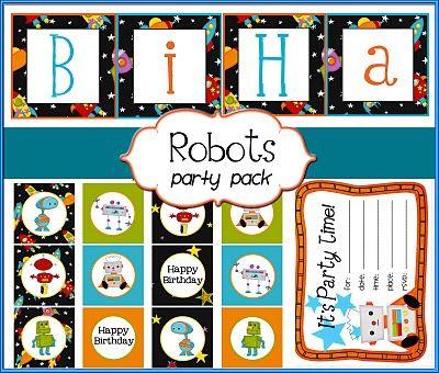 Free Printable 9 Birthday Party Printables For Boys Girls
