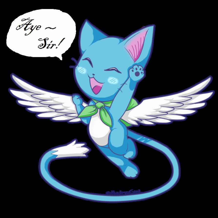 Happy Fairy Tail By Kyubeygirl On Deviantart Fairy Tail Mythical Animal Fairy