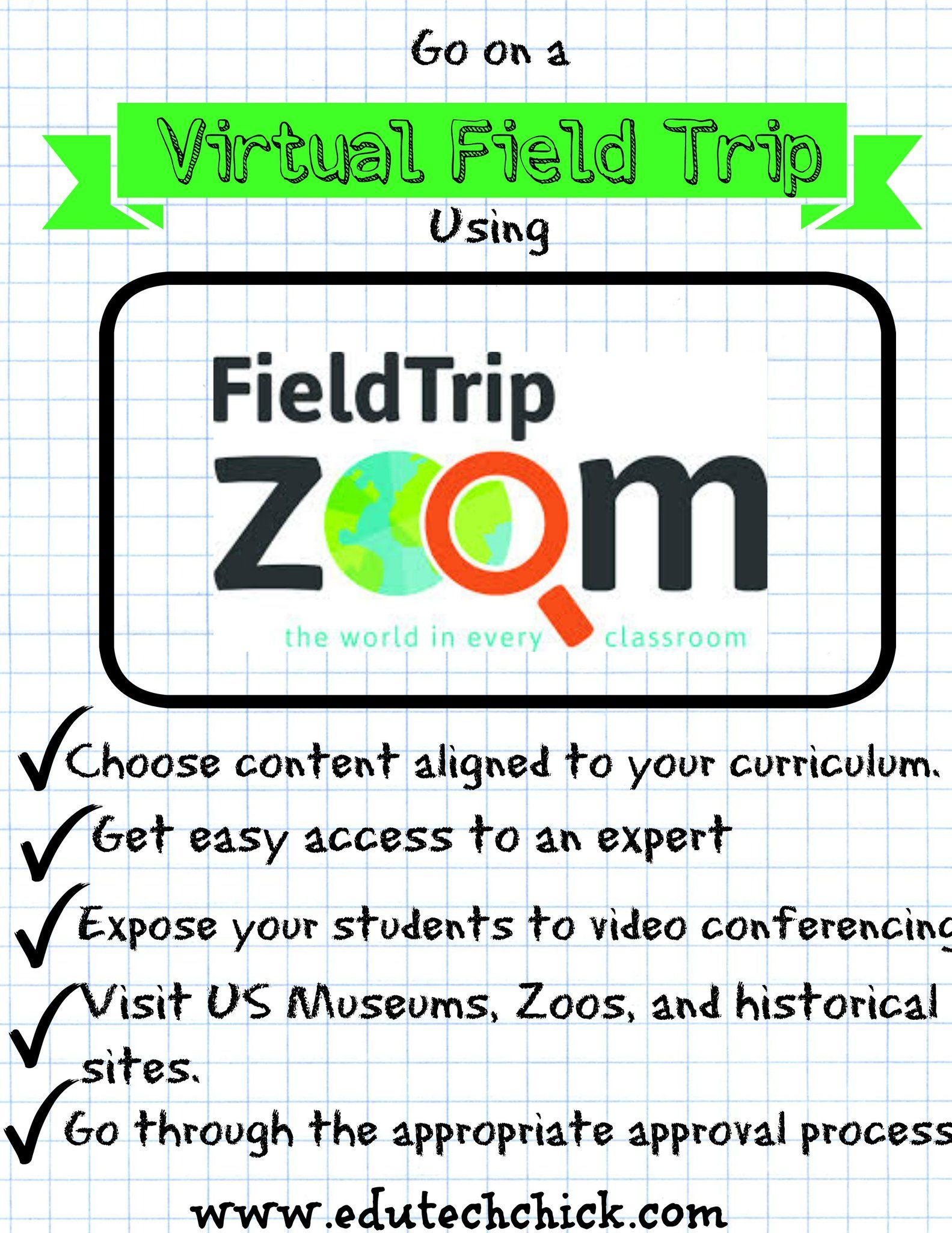 Using Field Trip Zoom Techick Virtual Field