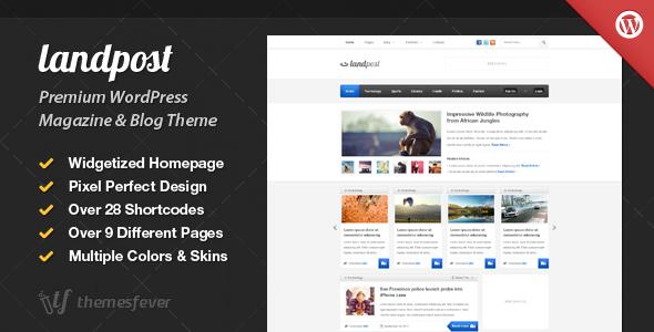 Landpost Premium WordPress Magazine and Blog Theme