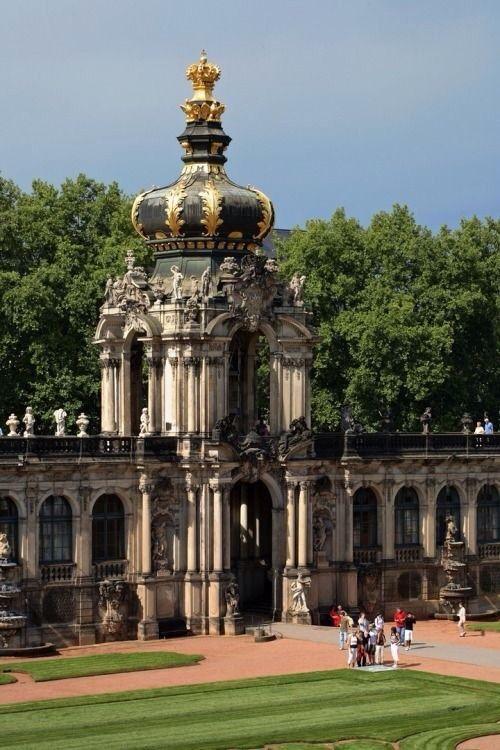 Zwinger Dresden Dresden Baroque Architecture Beautiful Buildings