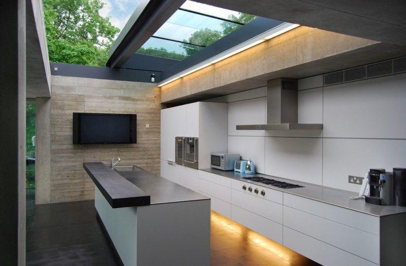 outside kitchen design stove impressive lighting island faucet sink - farben für küchenwände