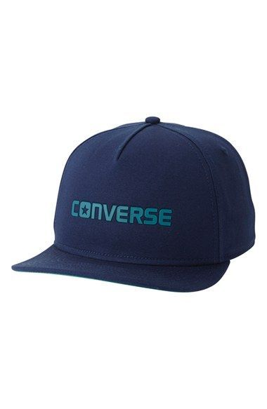 ddb05a00bdc06 Converse Logo Snapback Cap