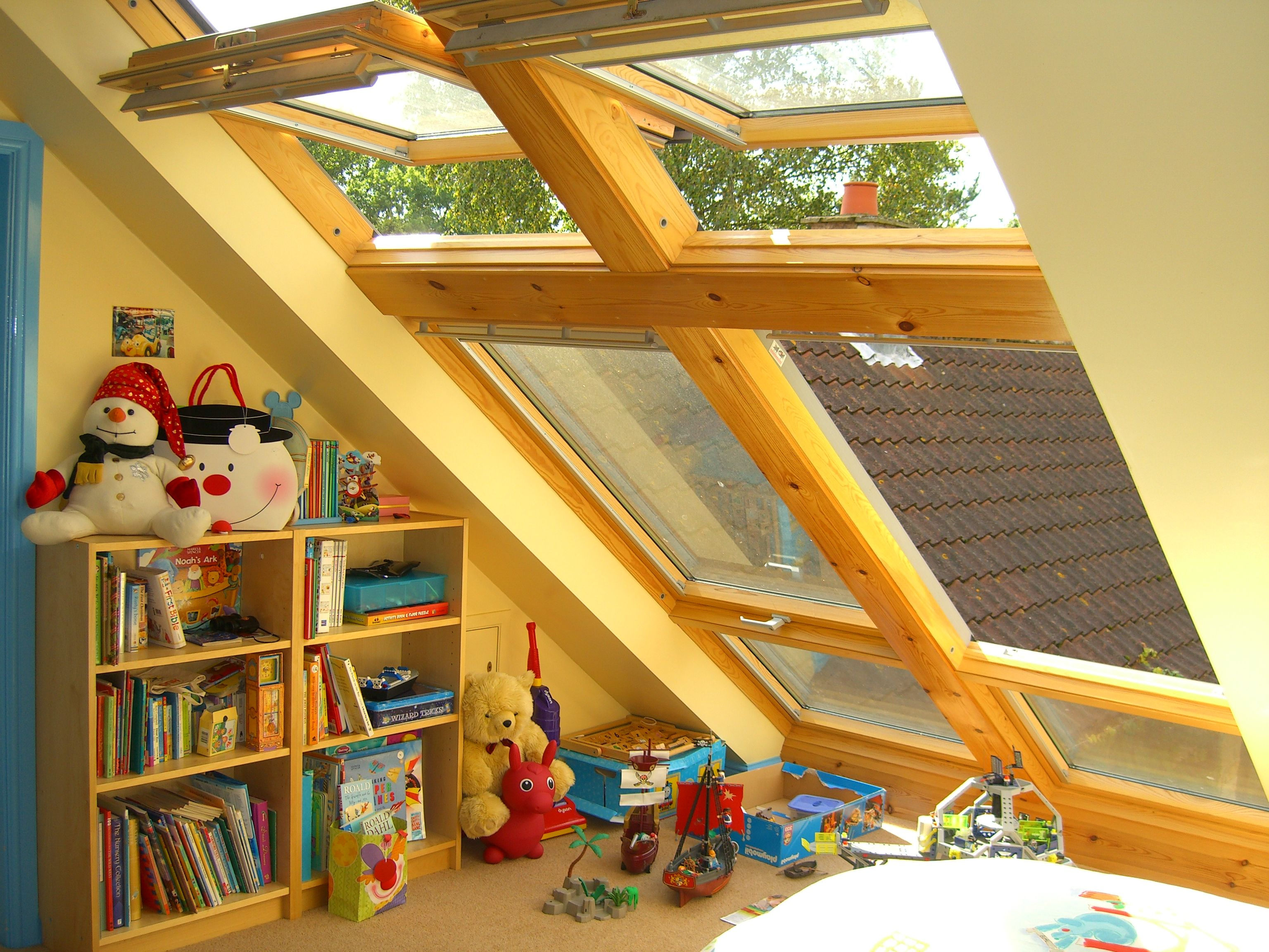 A Cheaper Alternative To Velux Cabrio Balcony The Bottom Does Not Open But You Will Be Over 1000 Pound Better O Loft Room Loft Conversion Loft Conversion Velux