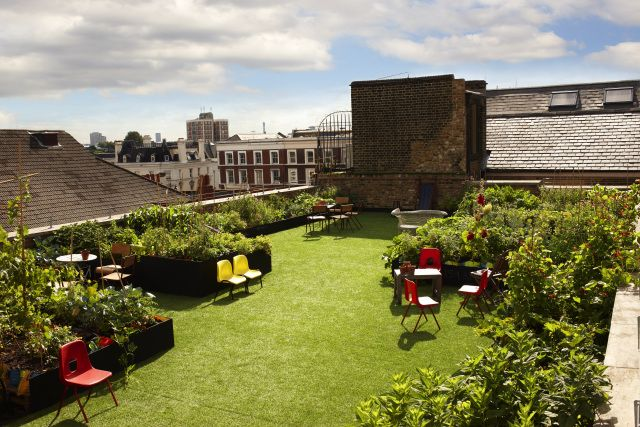 Dalston Roof Bar In East London Roof Garden Best Rooftop Bars London Rooftops