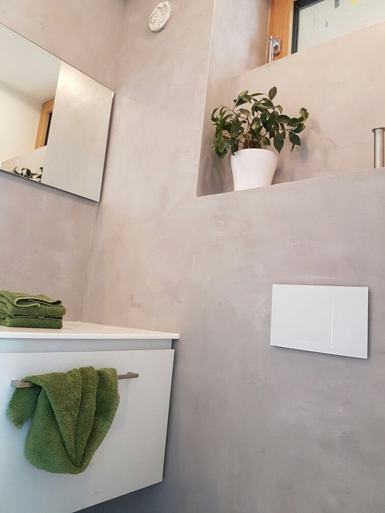 Beton Fugenlos Wandgestaltung Betonoptik Pinterest