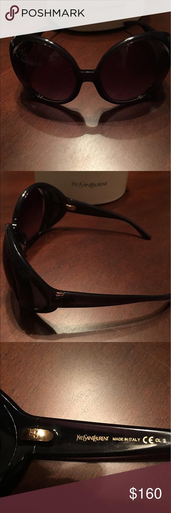 56b57d48740 Yves Saint Laurent Egypt Circular Sunglasses Yves Saint Laurent Oversized Circular  Sunglasses