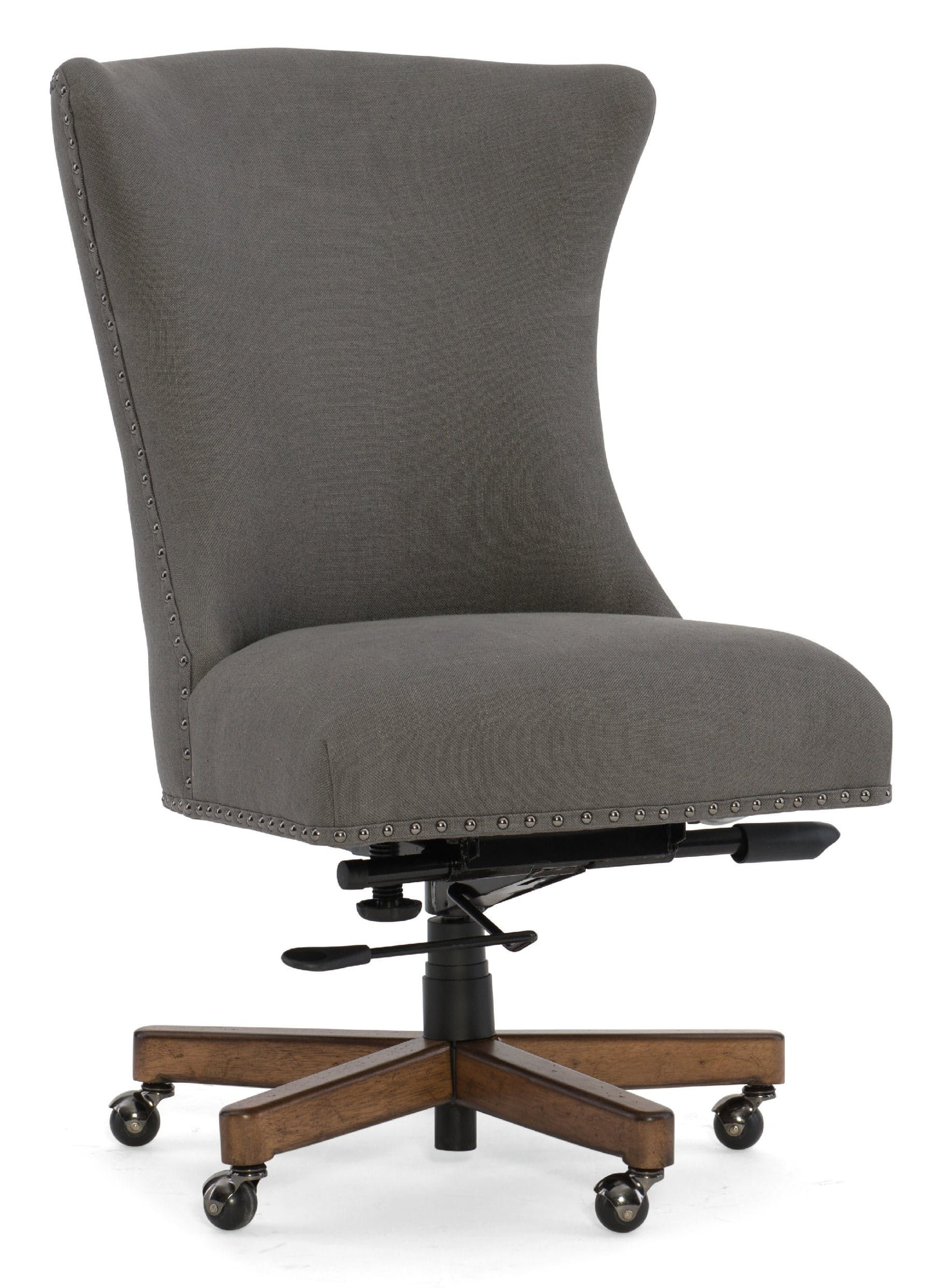 president office furniture. Hooker Furniture Evere Graphite Home Office Chair EC483-020 President L