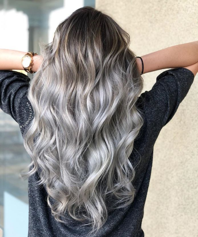 50 Pretty Ideas of Silver Highlights to Try ASAP   Hair Adviser Gallery