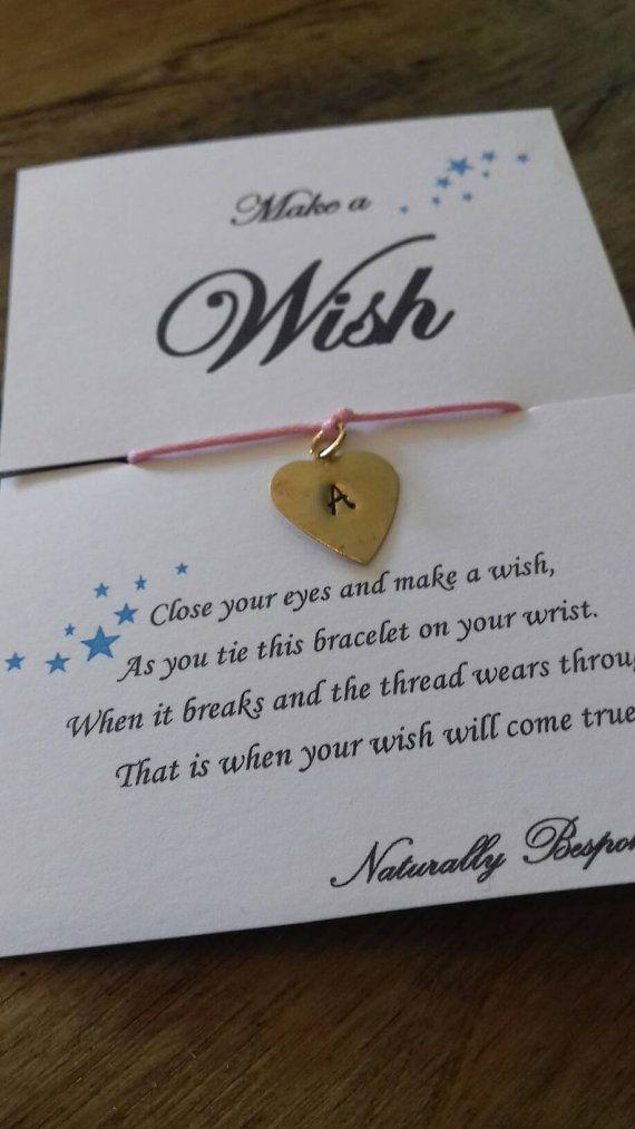 Part Favour//Weddings//Birthdays Personalised Infinity//Friendship Bracelet