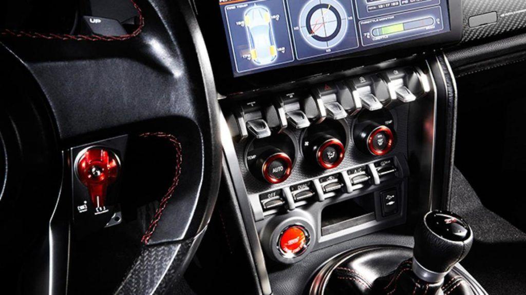 2016 Subaru Brz Sti Interior Tech New 3 Pinterest Subaru