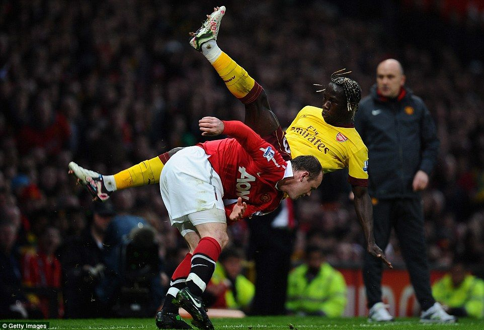 Fabio and Wayne Rooney (pictured) struck in both halves as United sealed a spot in the FA Cup semi-final