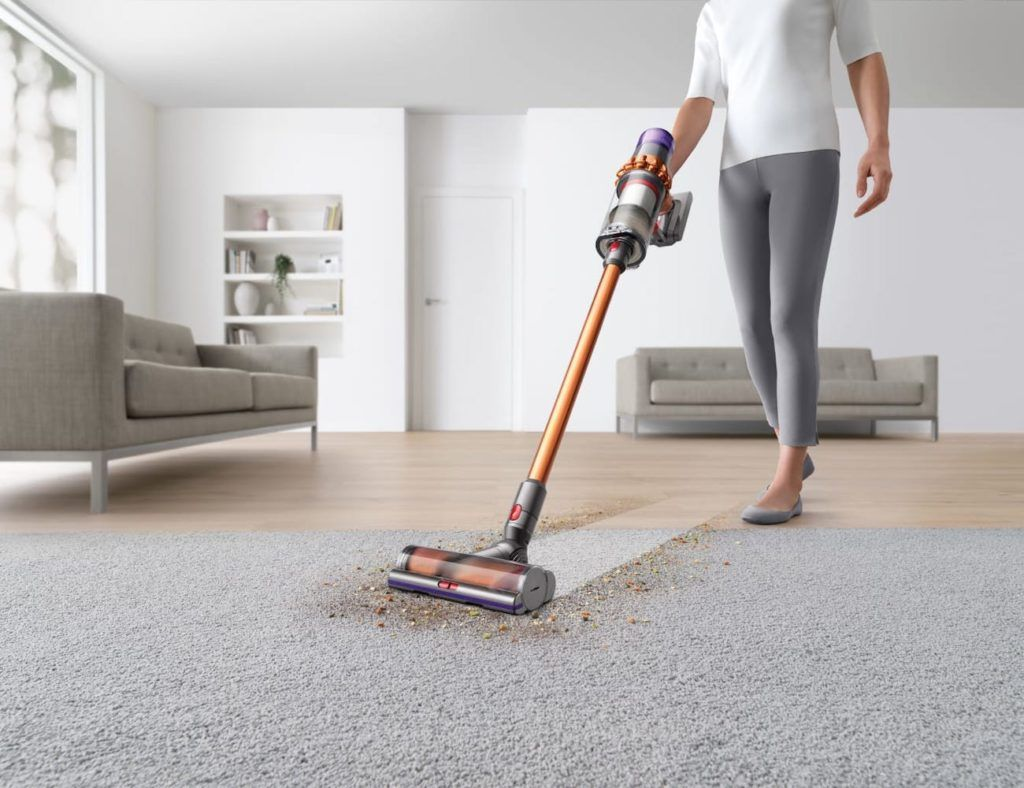 Dyson V11 Absolute Handheld Cord Free Vacuum Cleans Carpet And Hard Floors Cordless Stick Vacuum Cleaner Cleaning Hacks Cordless Vacuum