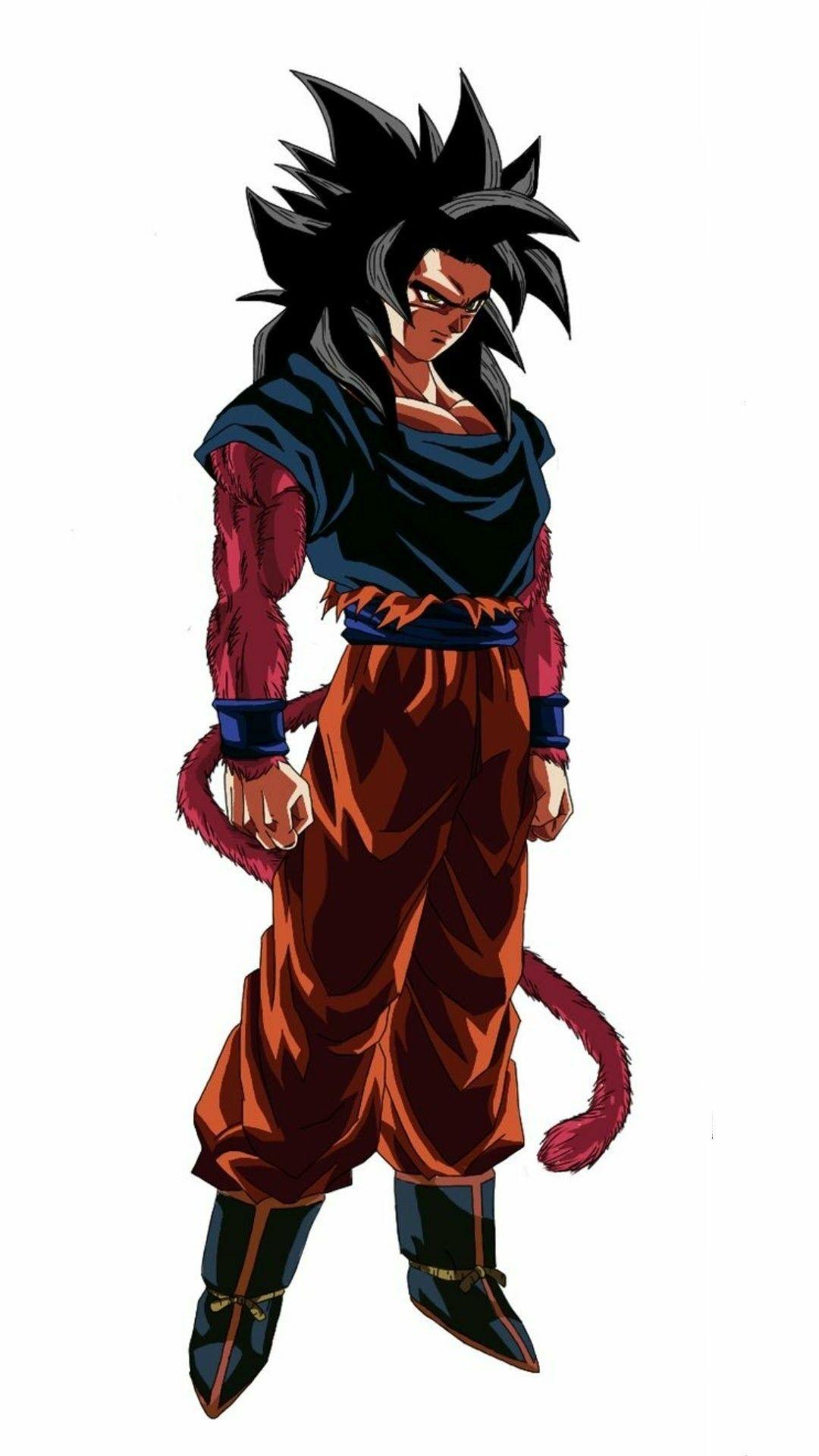 Goku Ssj 4 Personajes De Dragon Ball Personajes De Goku Goku