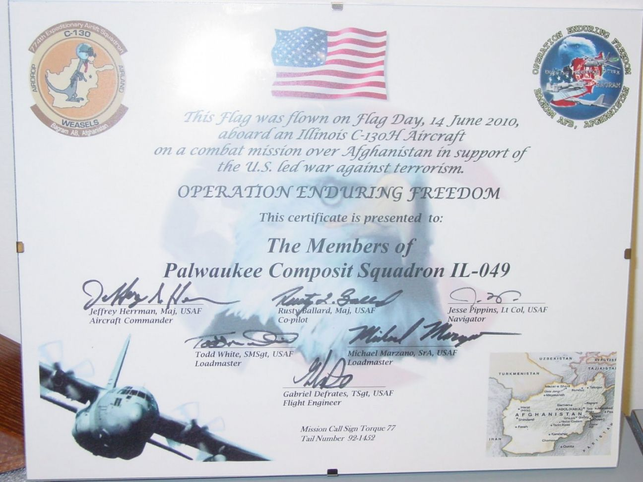 Flag Flown Certificate Template from i.pinimg.com