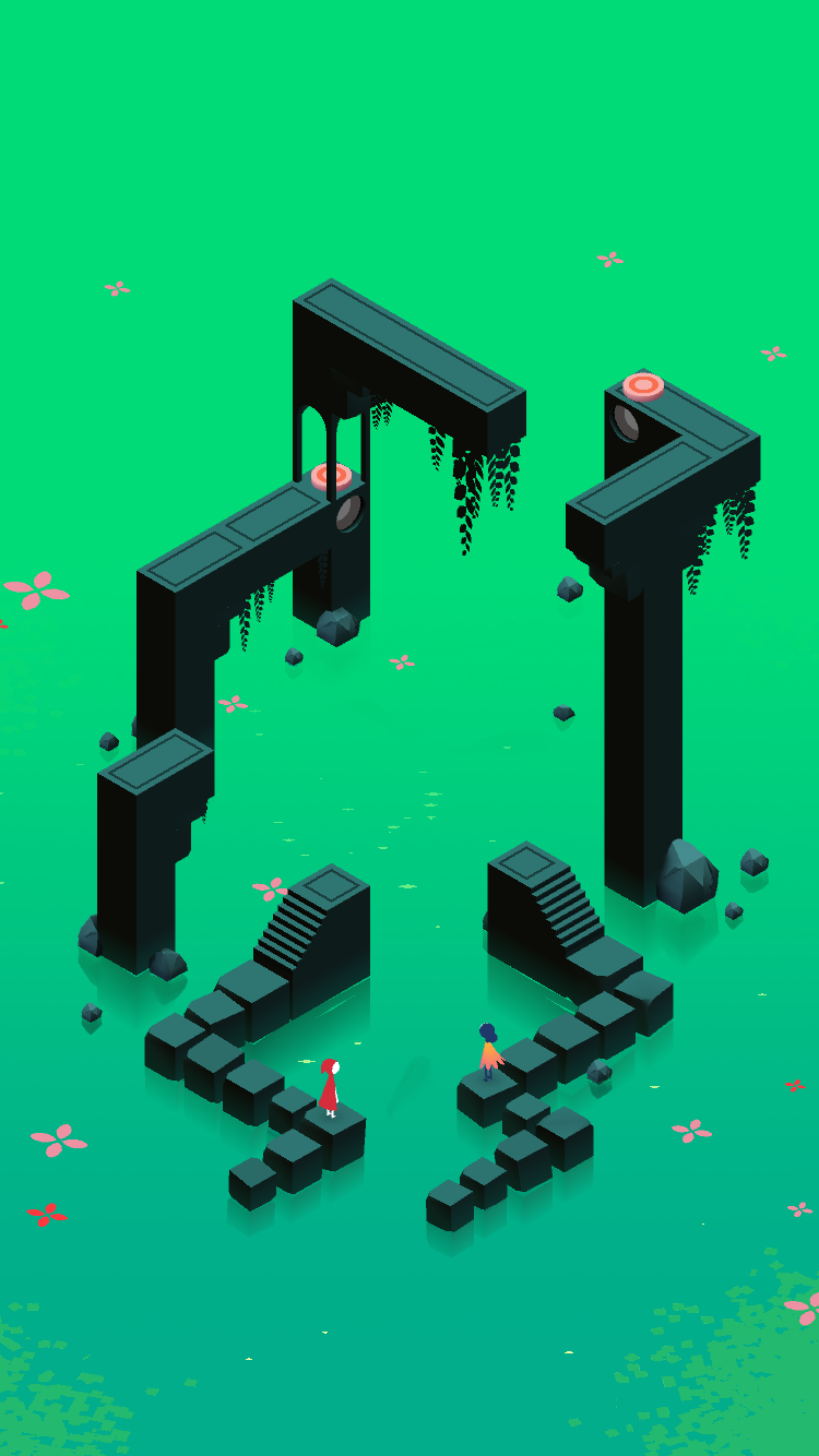 Pin By Melody On Monument Valley Monument Valley Game Isometric Art City Map Drawing