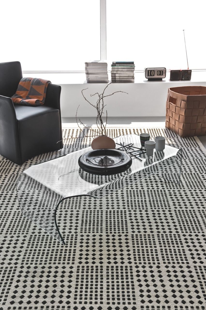 Africa Is An African Style Rectangular Jacquard Woven Embossed Rug Made From Mixed Vintage