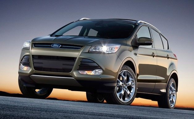2013 Ford Escape Gets Focused Design Ecoboost Power Ford Escape Ford Kuga Ford Suv